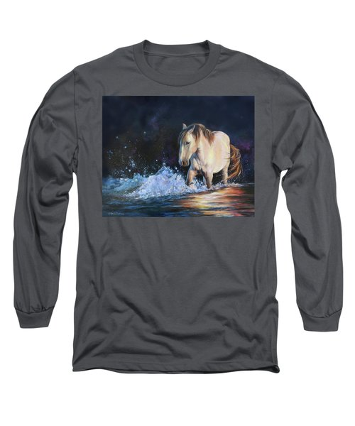 Stirring Up The Morning Long Sleeve T-Shirt