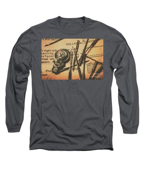 Stitching The Worn Long Sleeve T-Shirt