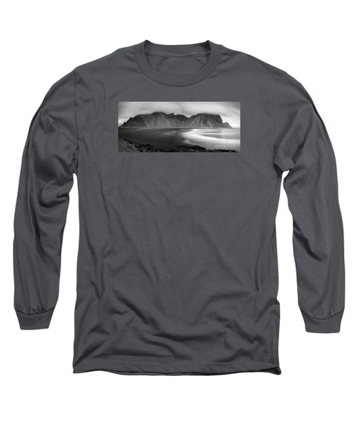 Stokksnes Iceland Bandw Long Sleeve T-Shirt by Gunnar Orn Arnason
