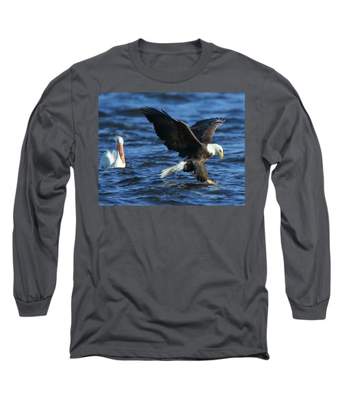 Long Sleeve T-Shirt featuring the photograph Stolen Dinner by Coby Cooper