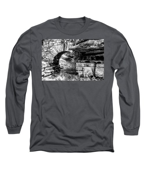 Stone Arch Long Sleeve T-Shirt by Wade Courtney