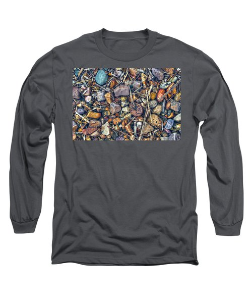 Long Sleeve T-Shirt featuring the photograph Dry Creek by Wayne Sherriff