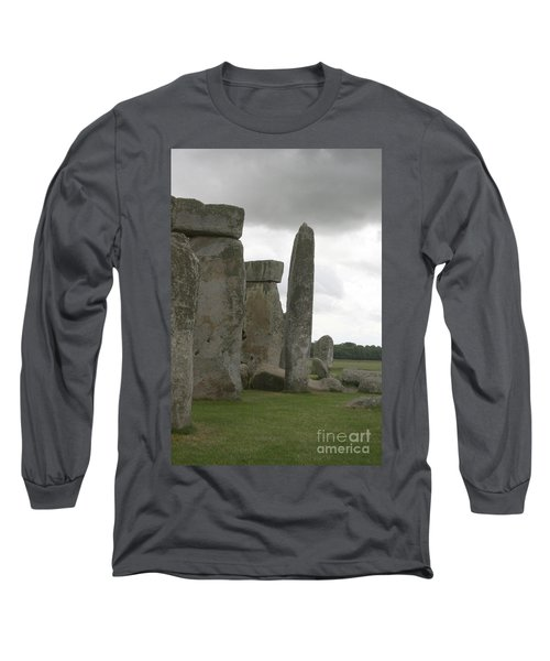 Stonehenge Side Pillars Long Sleeve T-Shirt