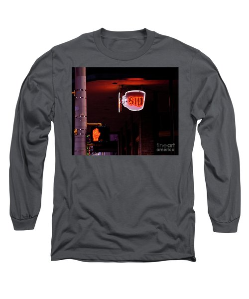 Stop And Sip Long Sleeve T-Shirt