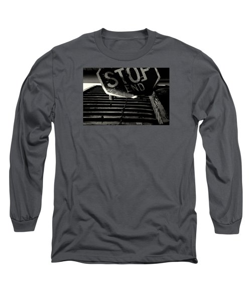 Stop End Long Sleeve T-Shirt