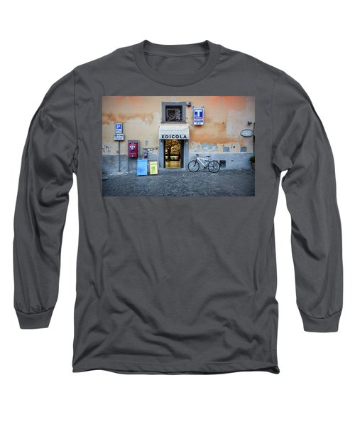 Storefront In Rome Long Sleeve T-Shirt