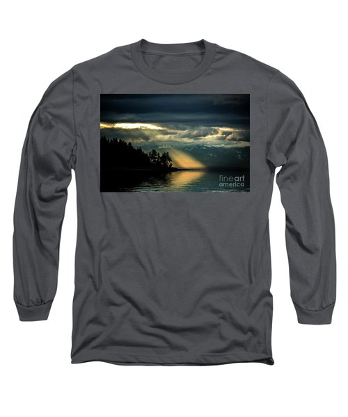 Storm 2 Long Sleeve T-Shirt by Elaine Hunter