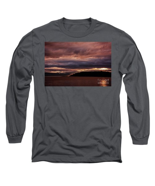 Storm 3 Long Sleeve T-Shirt by Elaine Hunter