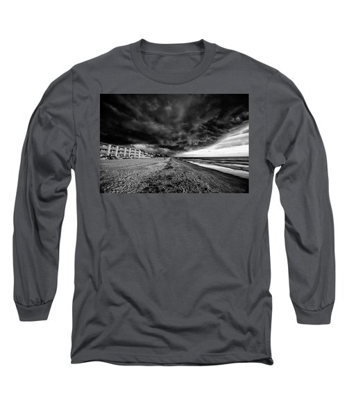 Storm Brewing Long Sleeve T-Shirt by Kevin Cable