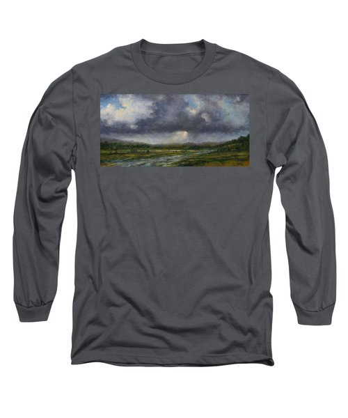 Storm Brewing Over The Refuge Long Sleeve T-Shirt