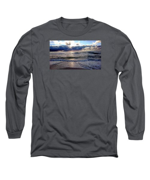 Long Sleeve T-Shirt featuring the photograph Storm Clouds 2 by Vicky Tarcau