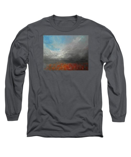 Storm Clouds Long Sleeve T-Shirt by Jane See