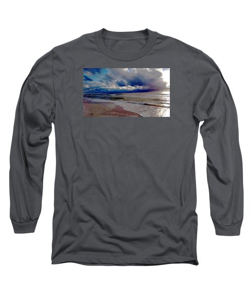 Long Sleeve T-Shirt featuring the photograph Storm Clouds by Vicky Tarcau
