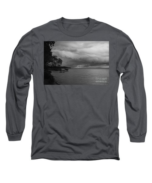 Long Sleeve T-Shirt featuring the photograph Storm Clouds by William Norton