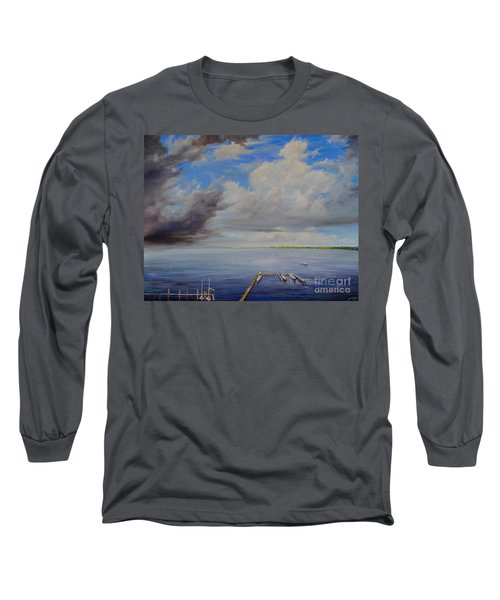 Storm On The Indian River Long Sleeve T-Shirt