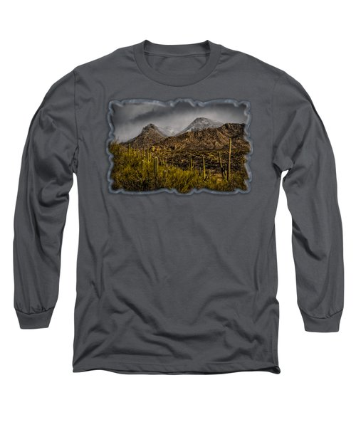 Storm Over Catalinas 15 Long Sleeve T-Shirt
