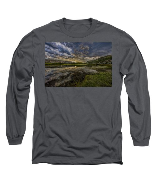 Storm Over Madison River Valley Long Sleeve T-Shirt