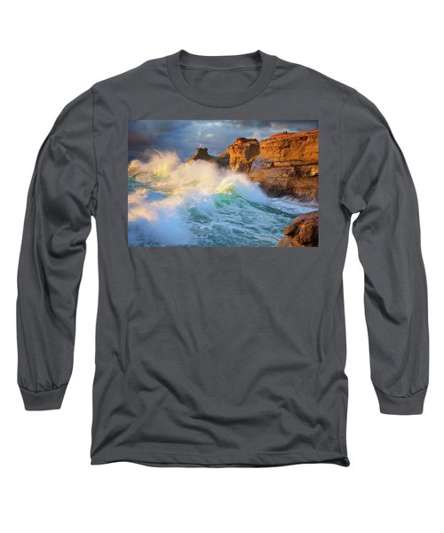 Long Sleeve T-Shirt featuring the photograph Storm Watchers by Darren White