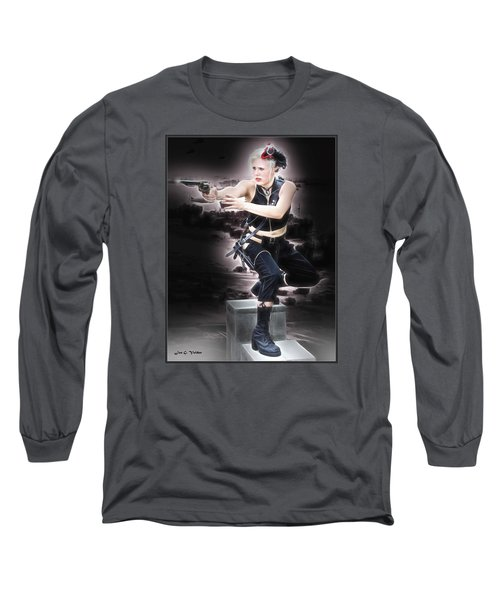 Storming The Beach Long Sleeve T-Shirt