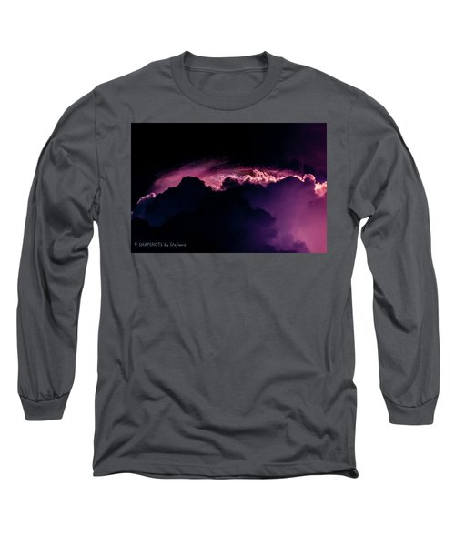 Storms Acomin' Long Sleeve T-Shirt by Stefanie Silva