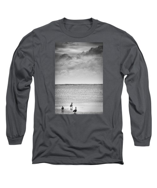 Canada Geese - Currituck Sound Long Sleeve T-Shirt