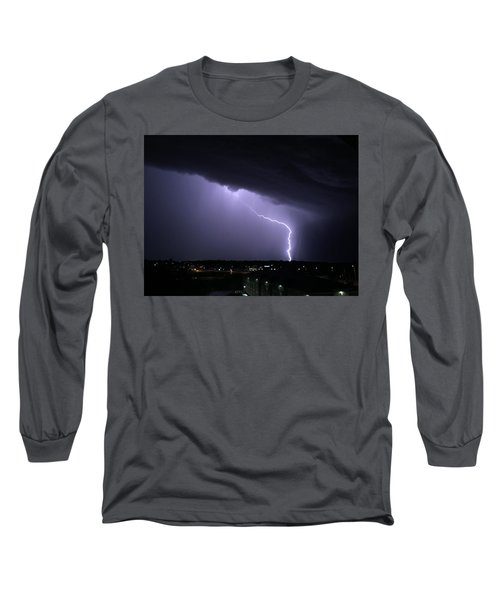Stormy Art On The Prarie Long Sleeve T-Shirt