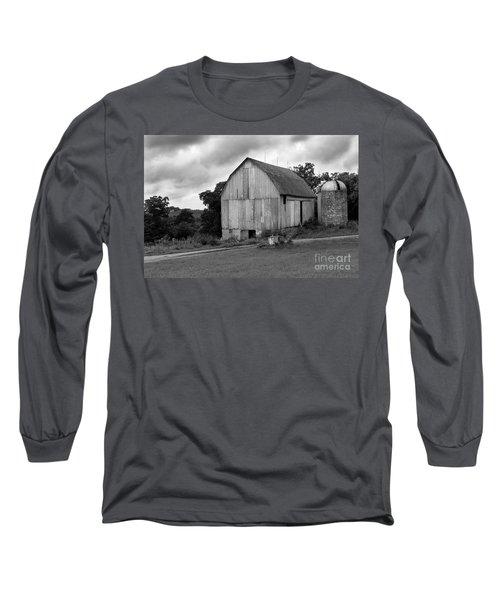 Stormy Barn Long Sleeve T-Shirt