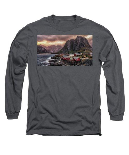 Stormy Hamnoy Long Sleeve T-Shirt
