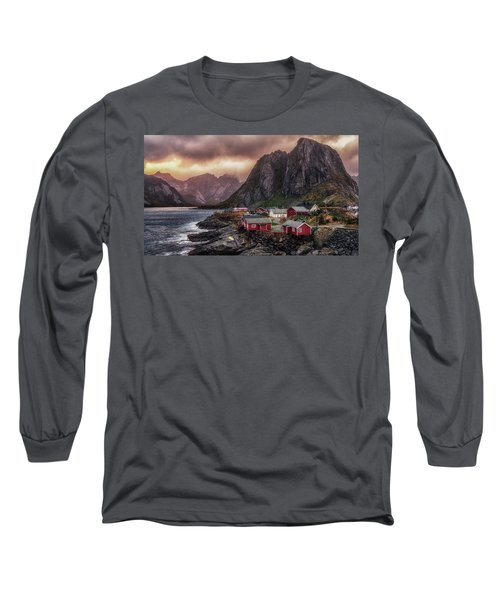 Stormy Hamnoy Long Sleeve T-Shirt