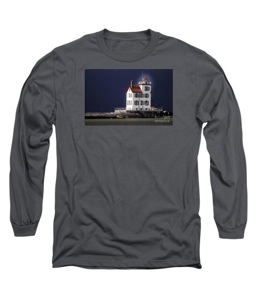 Stormy Lighthouse Long Sleeve T-Shirt