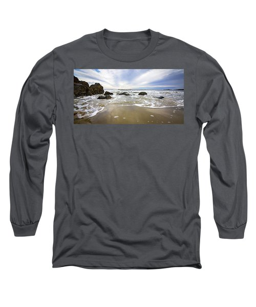 Stormy Maine Morning #1 Long Sleeve T-Shirt