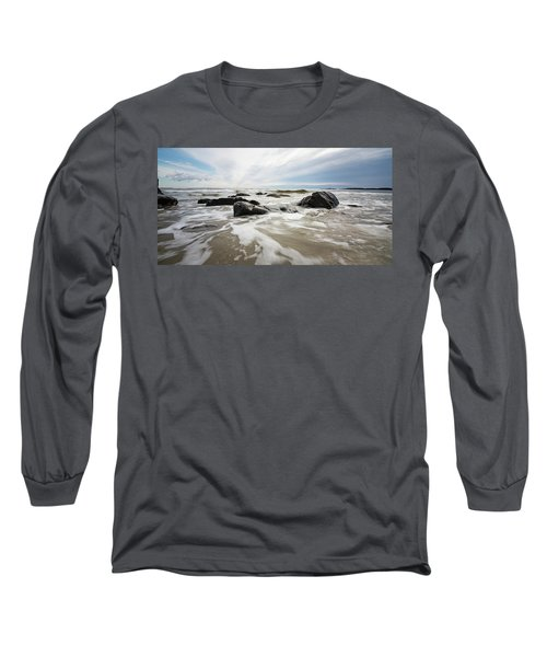 Stormy Maine Morning #3 Long Sleeve T-Shirt