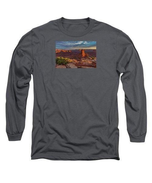 Stormy Sunset - Marlboro Point Long Sleeve T-Shirt
