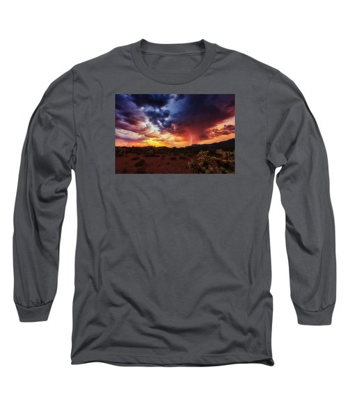 Stormy Twilight Long Sleeve T-Shirt