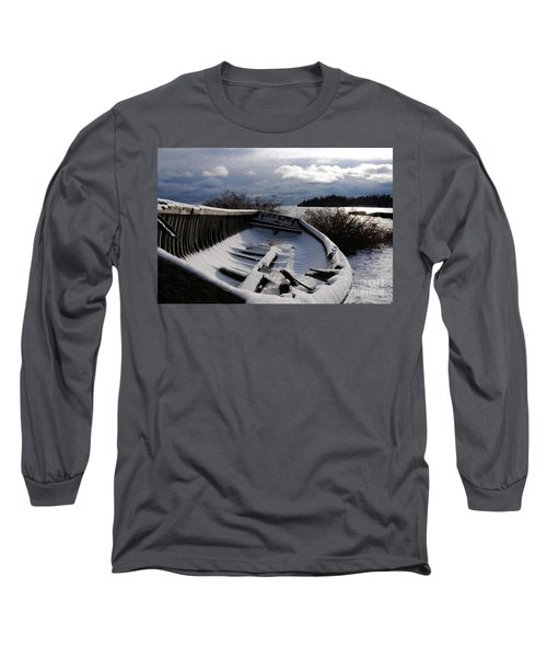 Stormy Weather Long Sleeve T-Shirt by Sandra Updyke