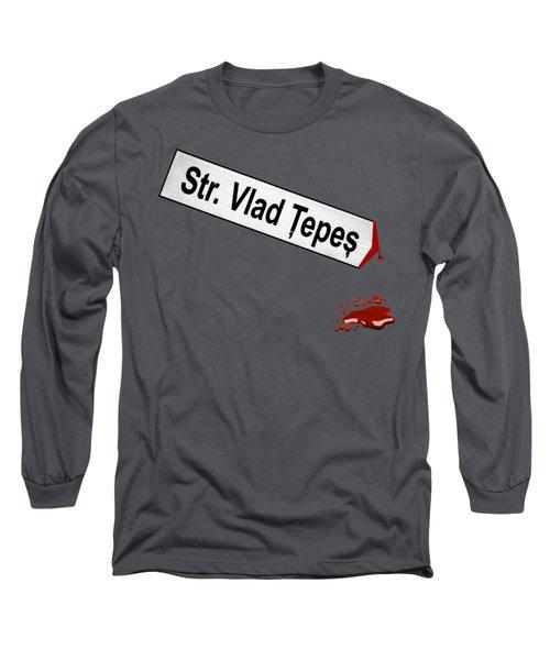 Strada Vlad Tepes Long Sleeve T-Shirt