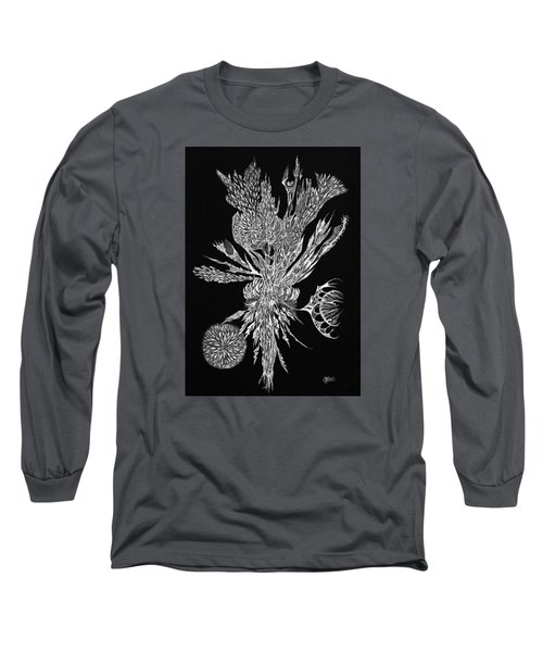 Bouquet Of Curiosity Long Sleeve T-Shirt by Charles Cater