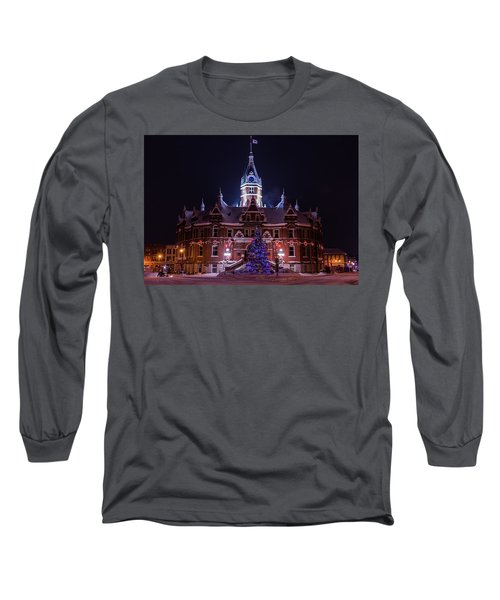 Stratford City Hall Christmas Long Sleeve T-Shirt