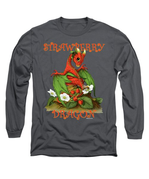 Strawberry Dragon Long Sleeve T-Shirt