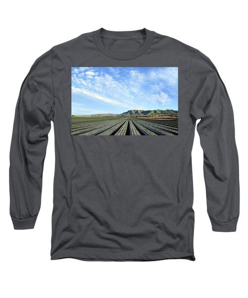 Long Sleeve T-Shirt featuring the photograph Strawberry Fields Forever 2 by Floyd Snyder