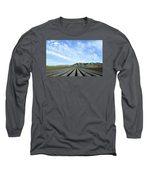Long Sleeve T-Shirt featuring the photograph Strawberry Fields Forever 3 by Floyd Snyder