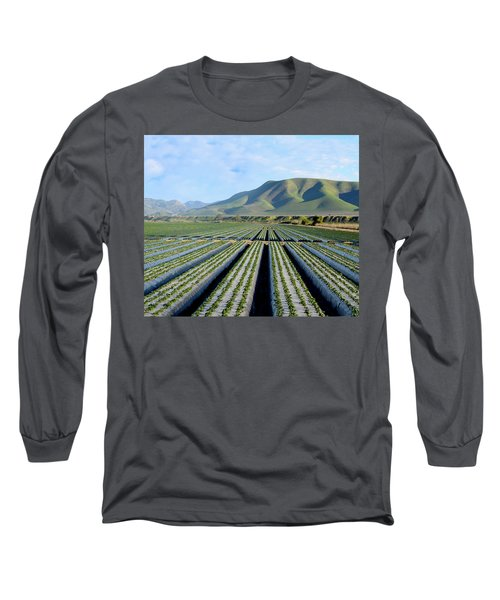 Long Sleeve T-Shirt featuring the photograph Strawberry Fields Forever by Floyd Snyder