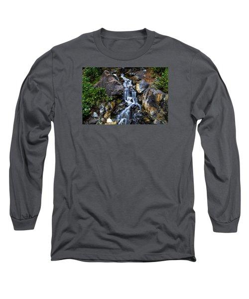 Stream Long Sleeve T-Shirt by Keith Hawley