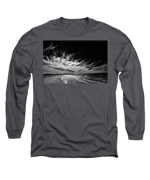 Streaming Clouds Long Sleeve T-Shirt by Kevin Cable