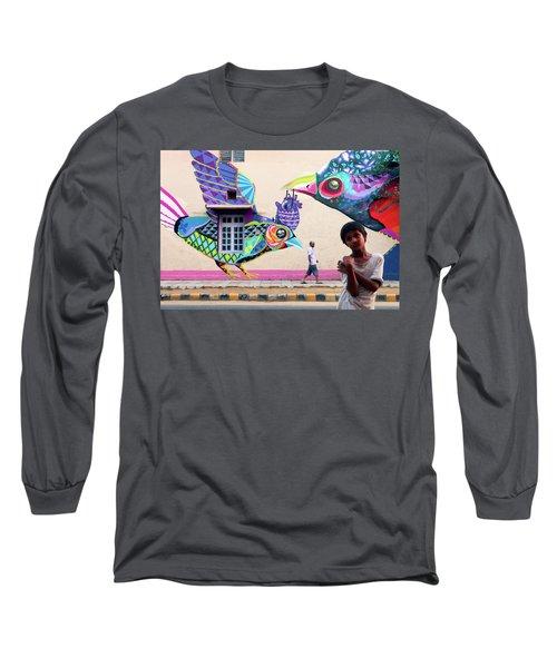 Street Art Long Sleeve T-Shirt