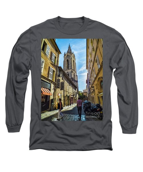 Street In Aix Long Sleeve T-Shirt