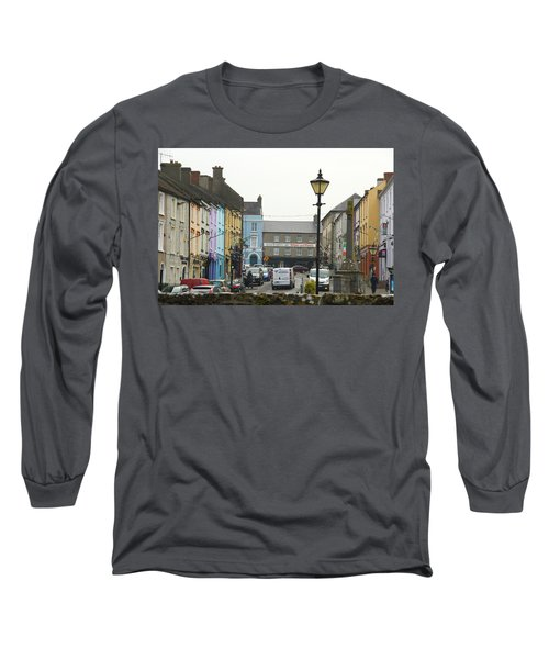 Long Sleeve T-Shirt featuring the photograph Streets Of Cahir by Marie Leslie