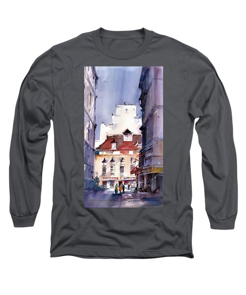 Parisian Stroll Long Sleeve T-Shirt