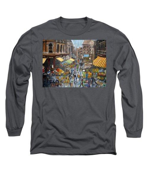 Street Scene Market Long Sleeve T-Shirt