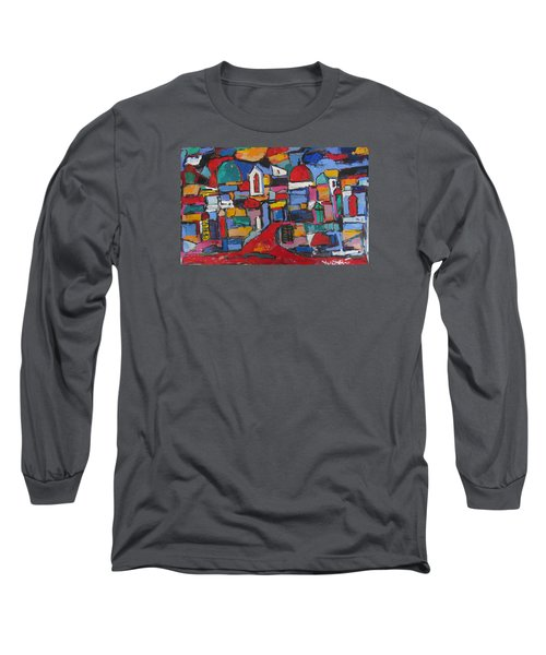 Streets Of Rome 01 Long Sleeve T-Shirt